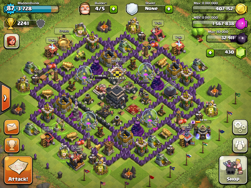 Clash of clans base layout town hall level 9 car tuning car tuning